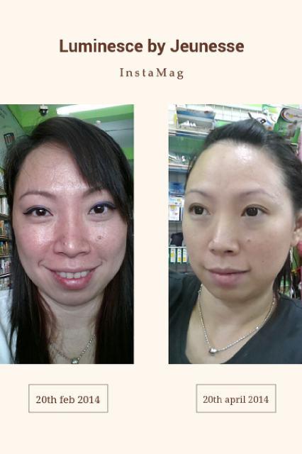 Testimoni dari DL g di Malaysia ..60 days with Luminesce